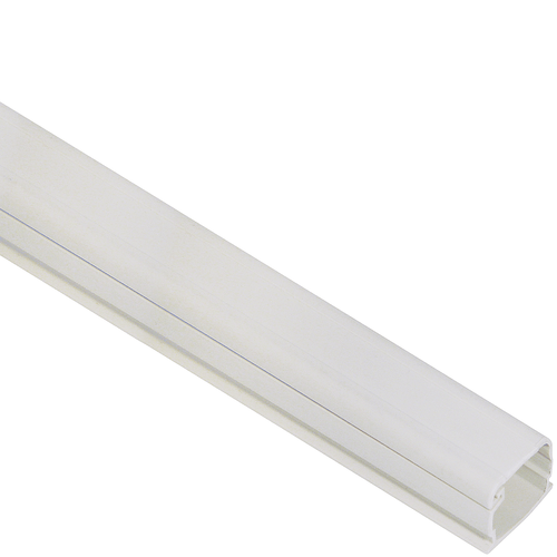 3/4″ W x 1/2″ H, 8 FT Cable Raceway Section in 160′ Bulk Pack- White