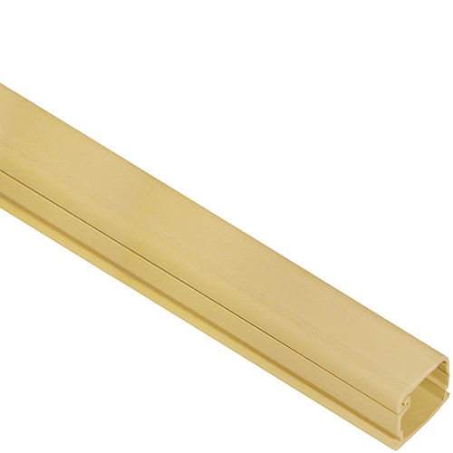3/4″ W x 1/2″ H, 6 FT Cable Raceway Section in 120′ Bulk Pack- Ivory