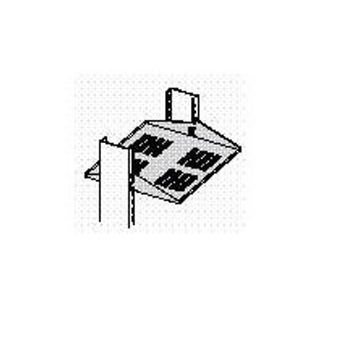 "Shelf Low Profile Ventilated 16""D Mill"