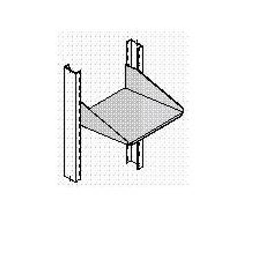 """Shelf Single Side Solid 10""""D Mill"""