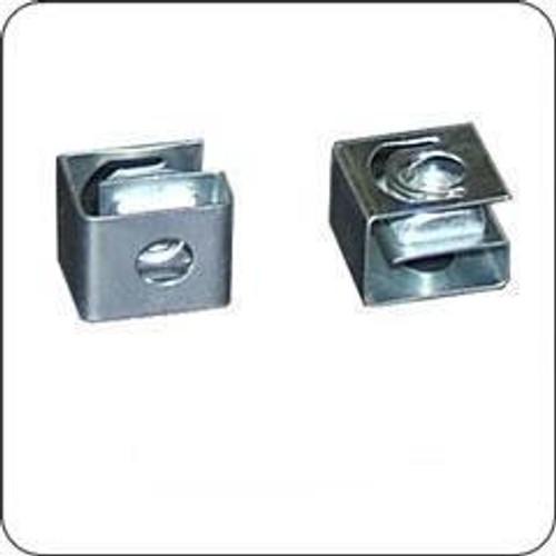 Cage Nut Slide-on For 12-24 Screws Zinc No Screws (25/Bag)