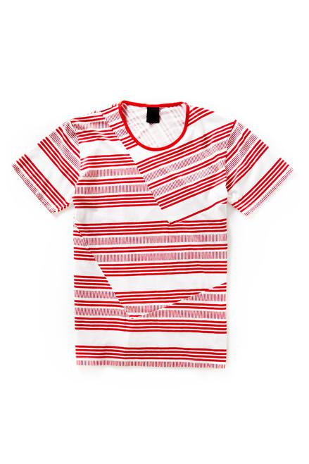 [Sample] Modern Amusement, hozey maccas striped tee