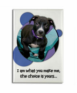 I am What You Make Me Pit Bull Magnet