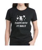 Sleeps with Pit Bulls Tshirt
