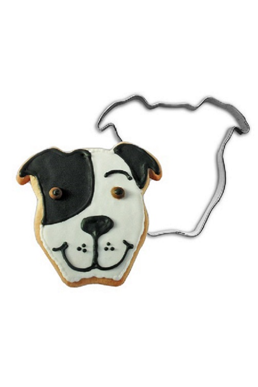 Pit Bull Cookie Cutter Cropped Ears