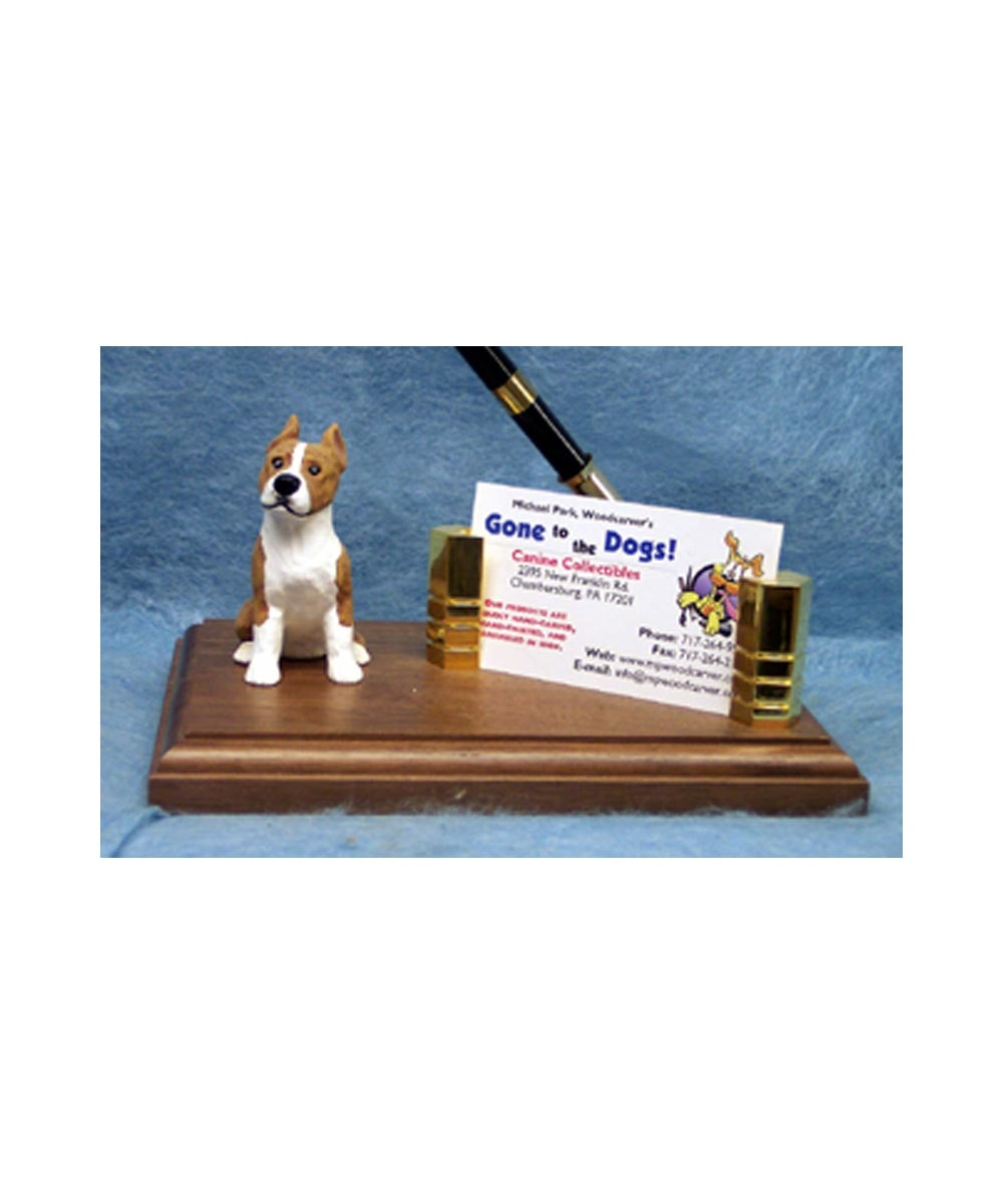 Pit Bull Business Card Holder
