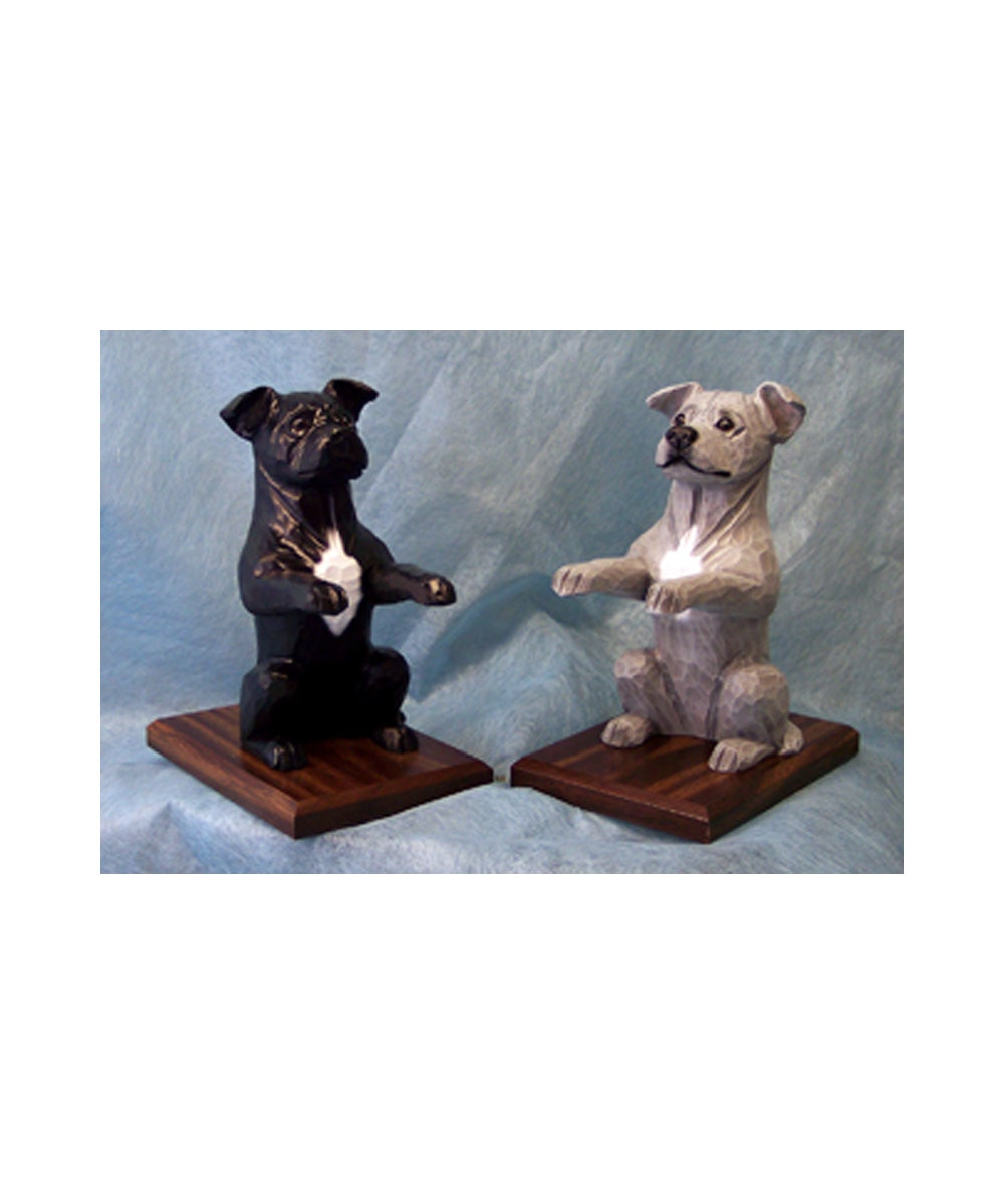 Pit Bull Book Ends