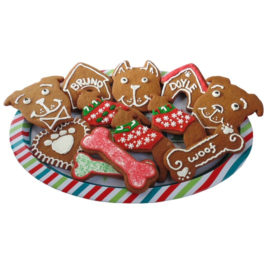 Pit Bull Face Cookie Cutter (Cropped Ears)