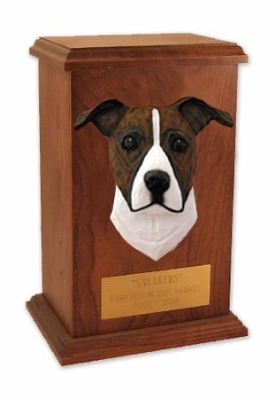 Pit Bull Memorial Urn