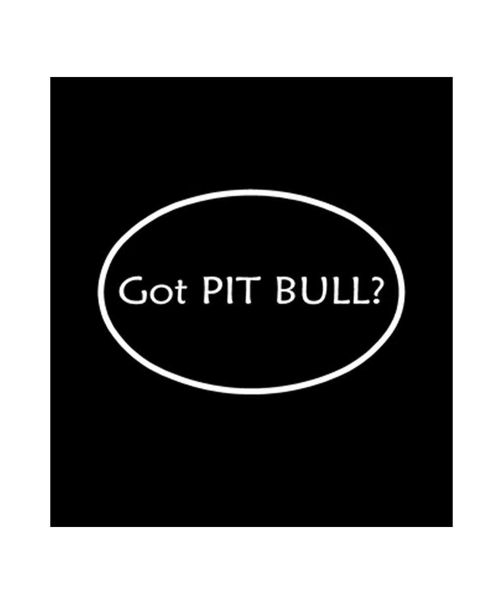 Got Pit Bull? Decal