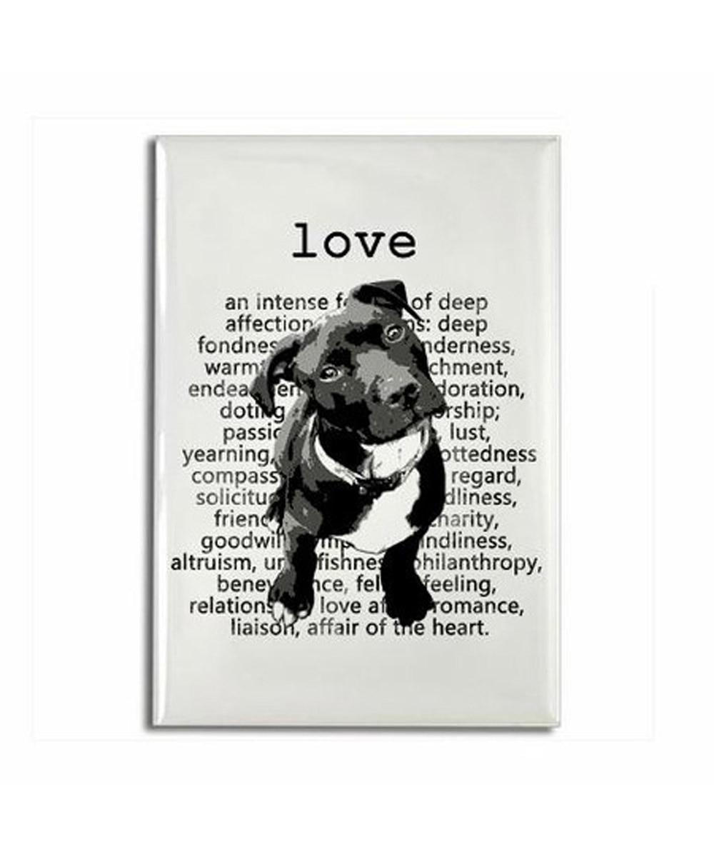 Pit Bull Love Magnet
