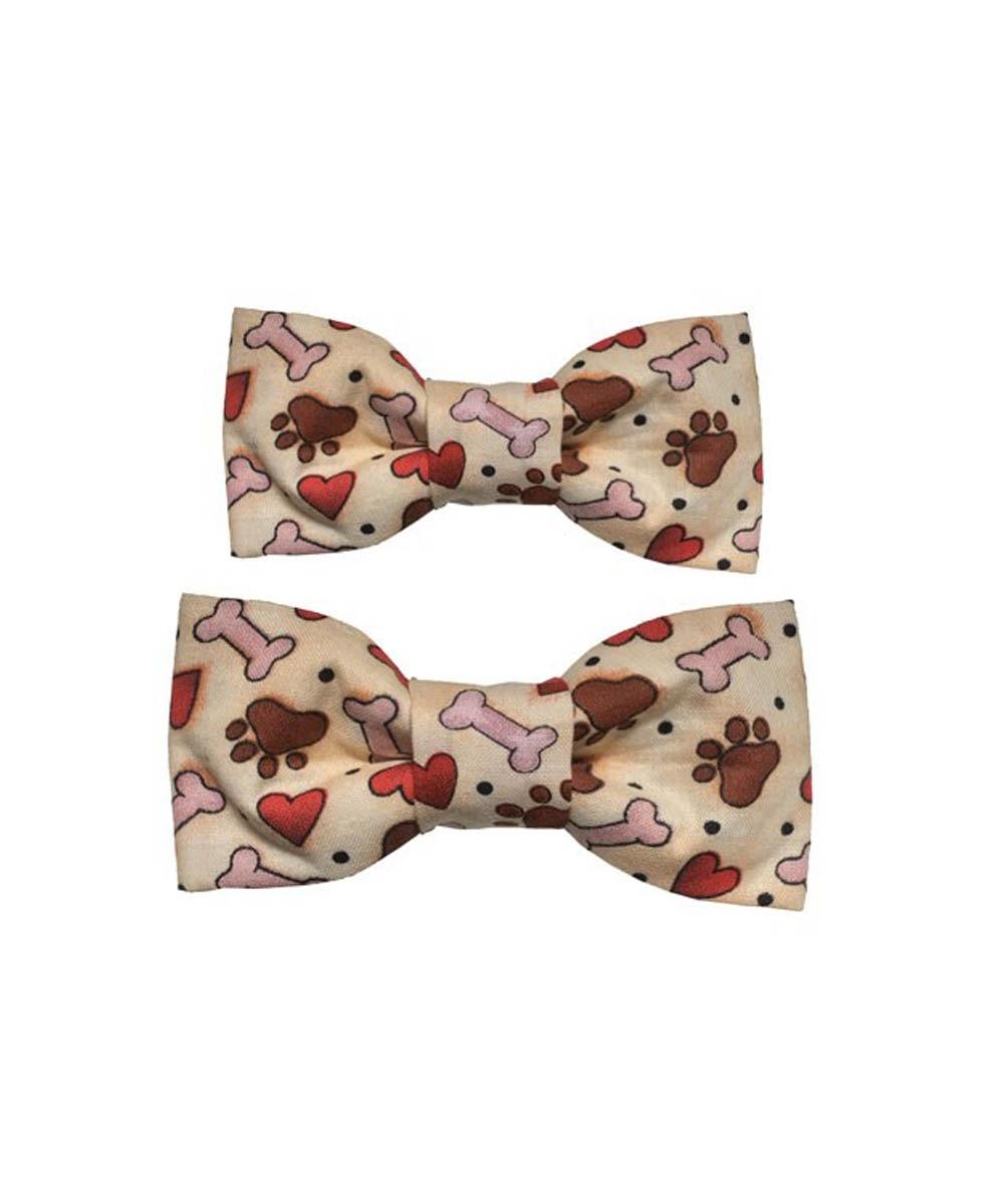 Dog Bow Tie Party Bone Heart Paw
