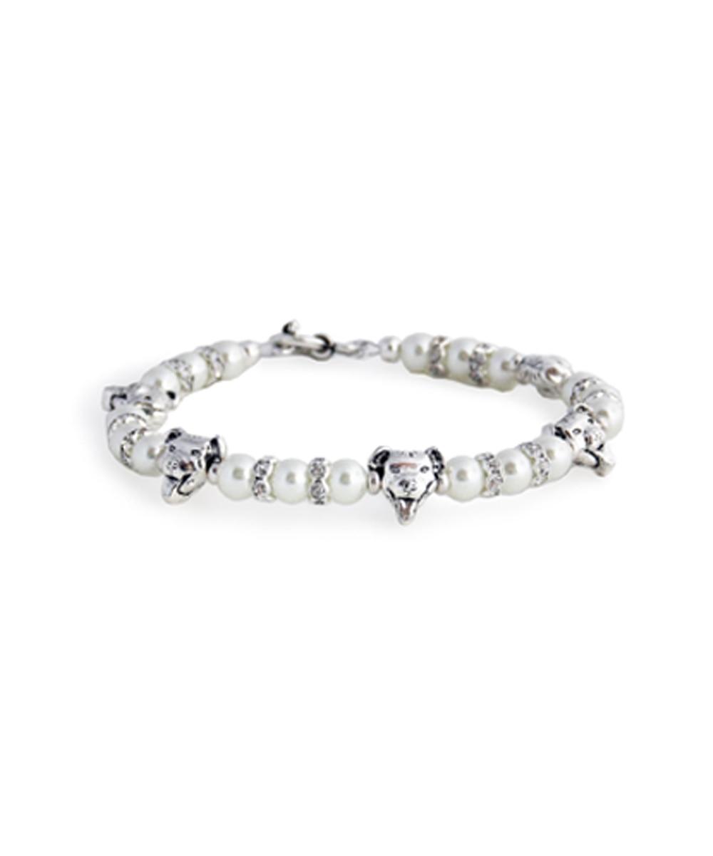 Pit Bulls and Pearls Bracelet