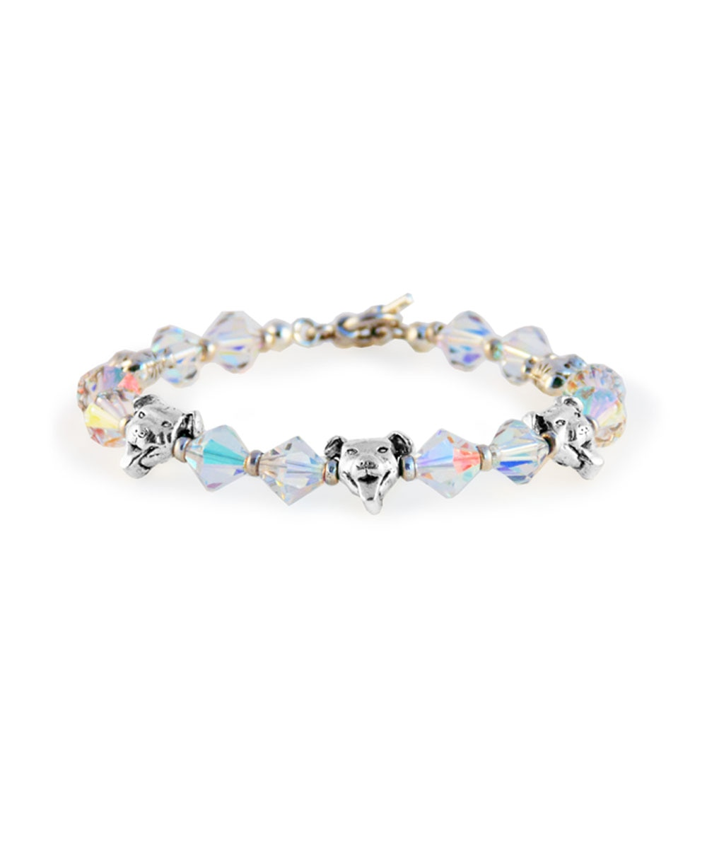 Pit Bulls and Crystals Bracelet