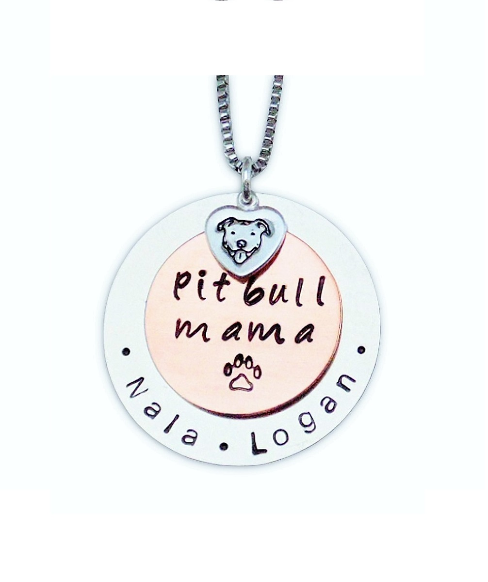 Pit Bull Mama Necklace