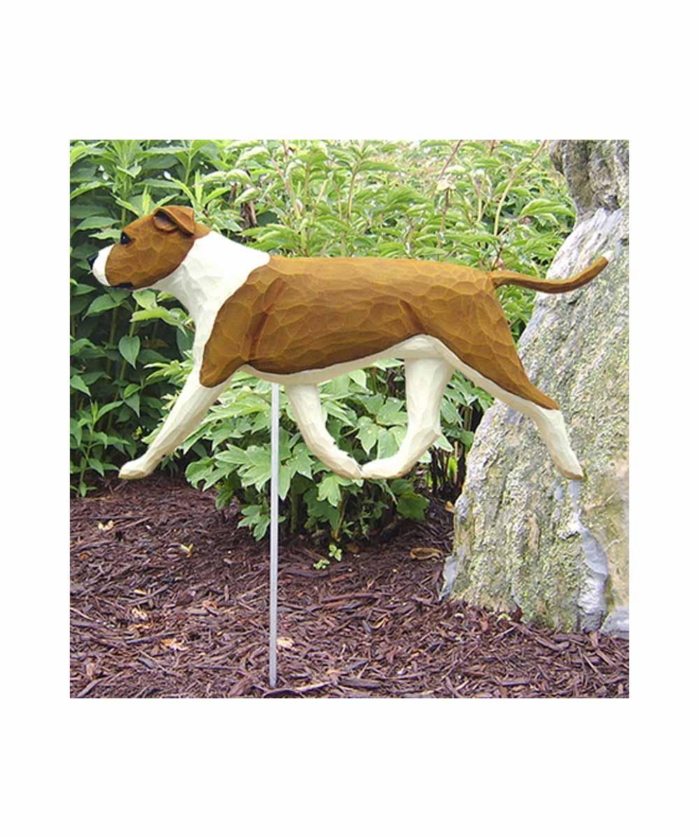 2-D Pit Bull Garden Stake