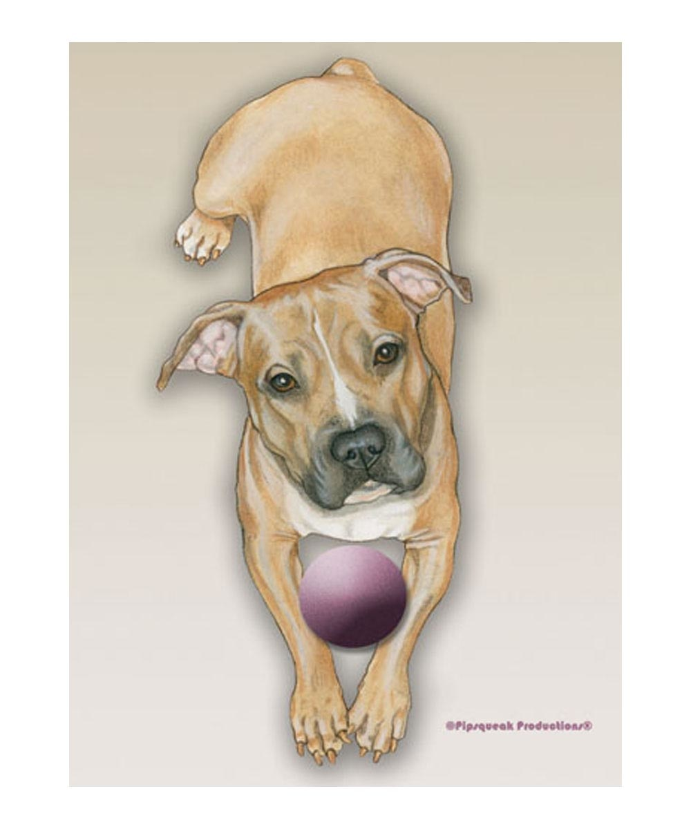 Peaceful PitBull Garden Flag