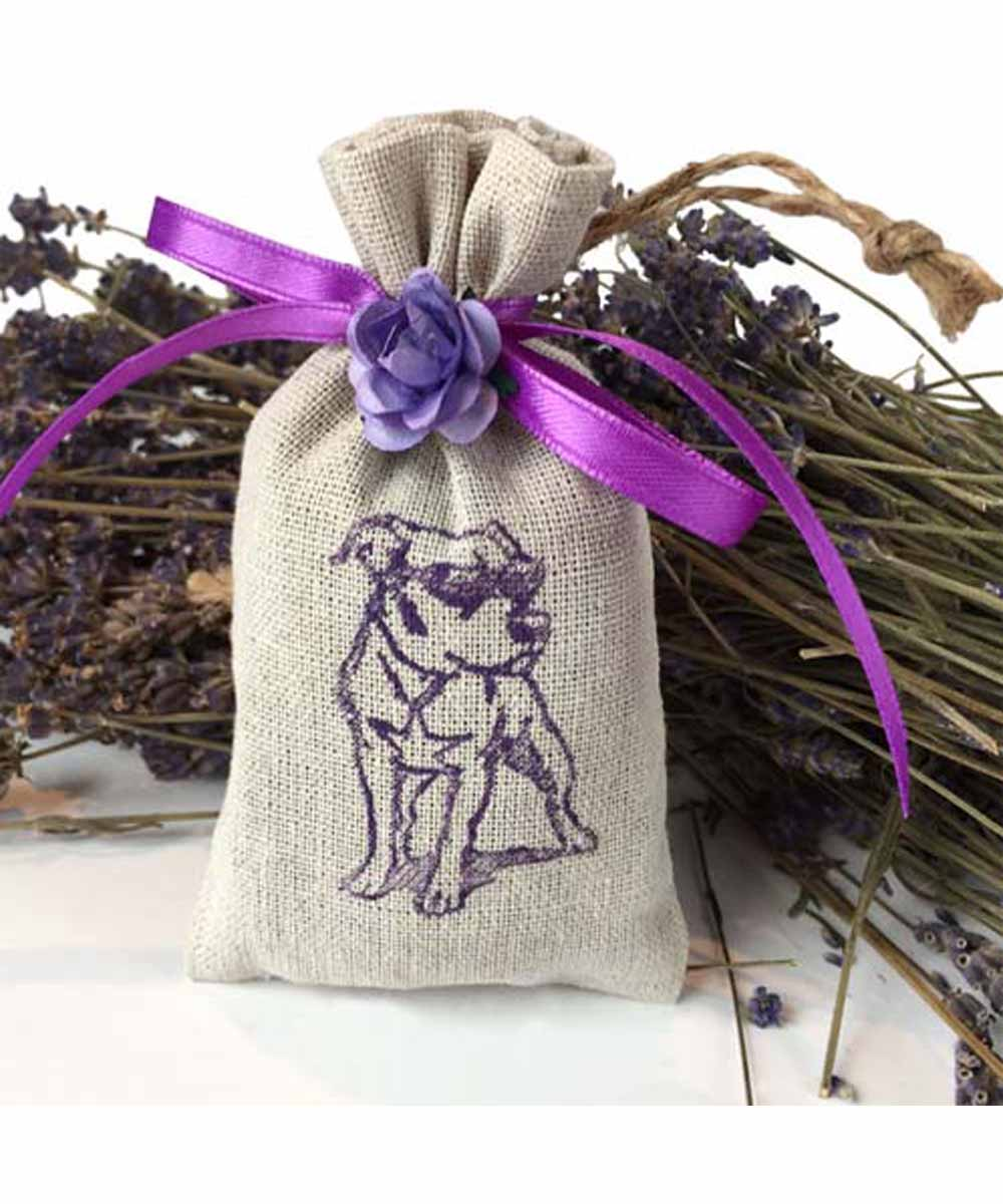 The Purple Pit Bull Lavender Sachet