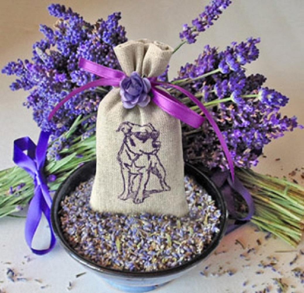 Purple Pit Bull Lavender Sachet