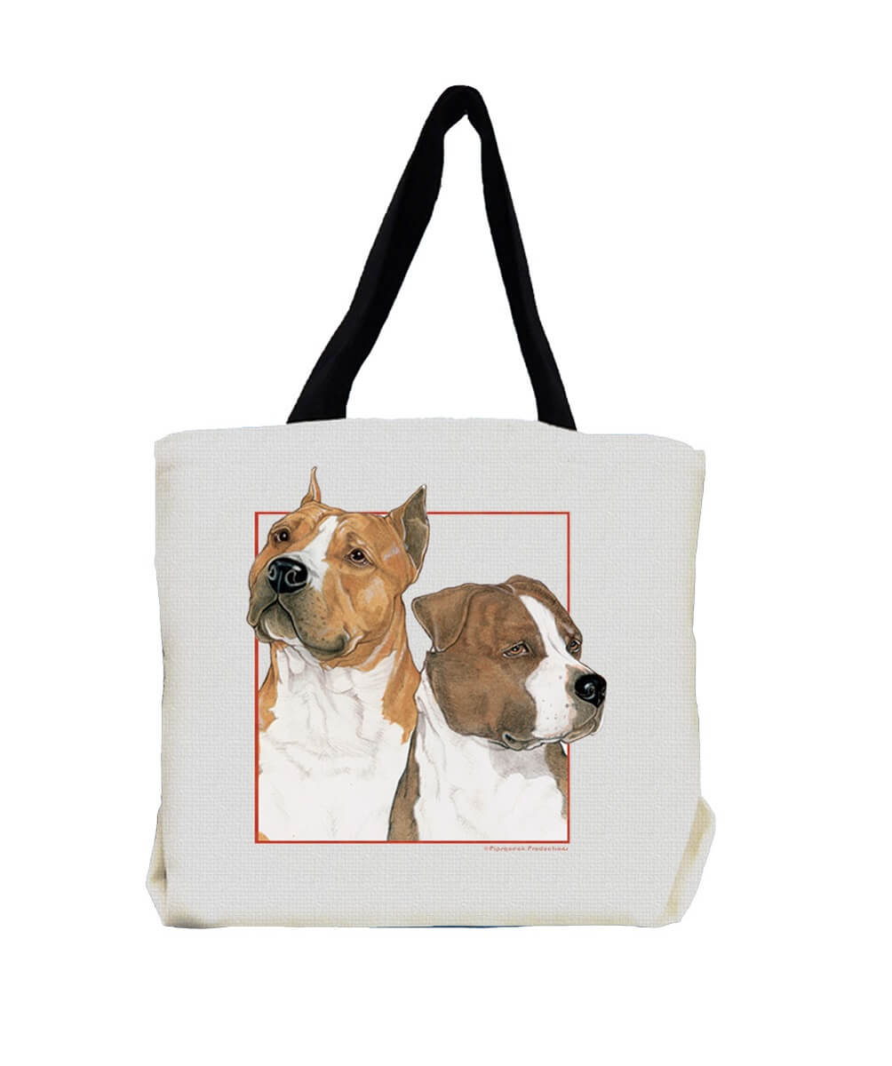 Am Staff Pit Bull Terrier Tote Bag