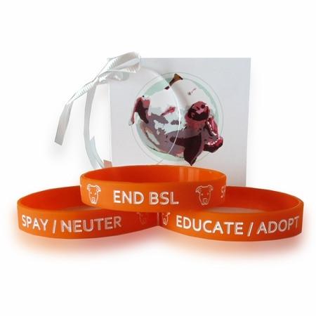 Pit Bull Awareness Wristband