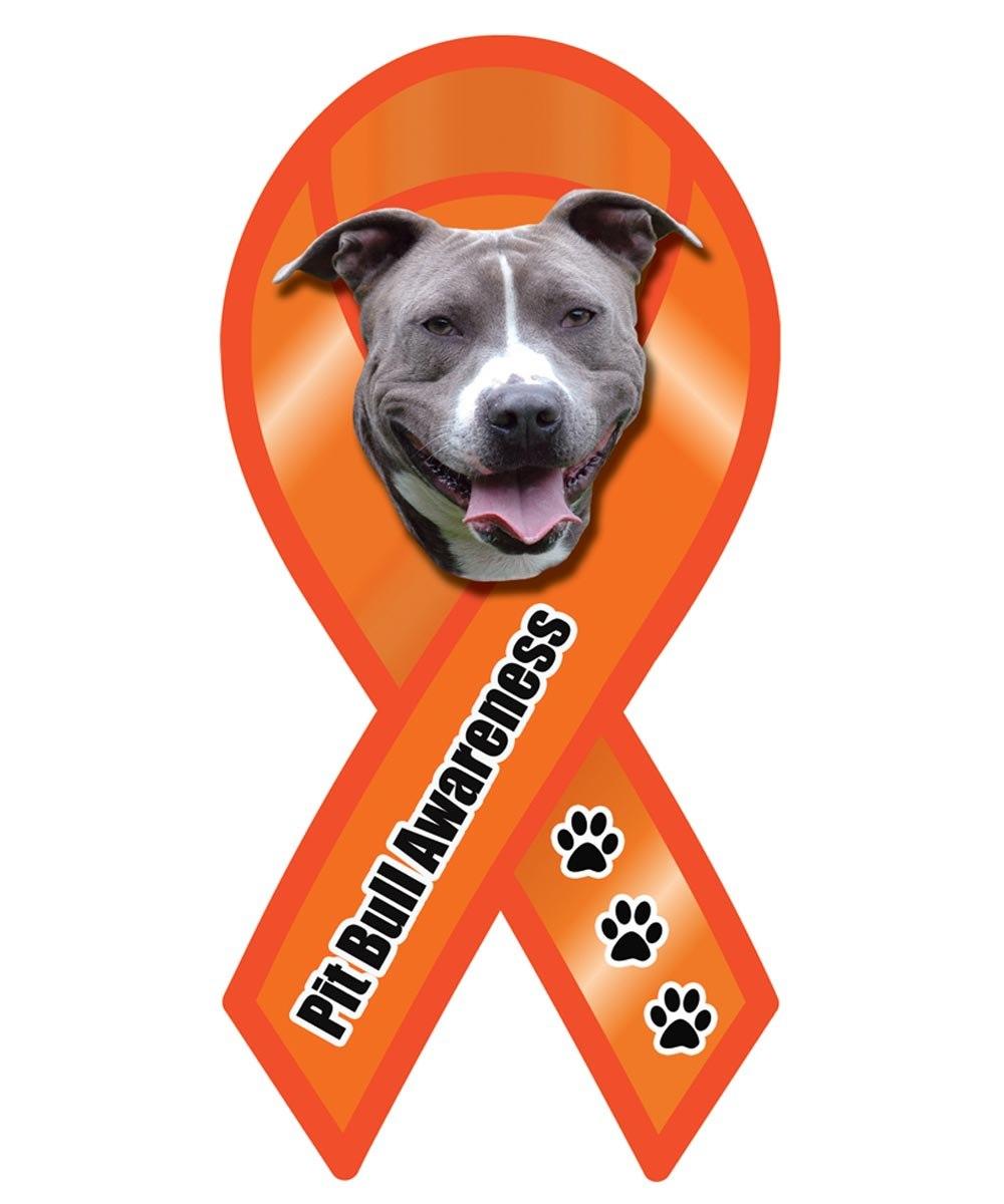 Pit Bull Awareness Ribbon Magnet