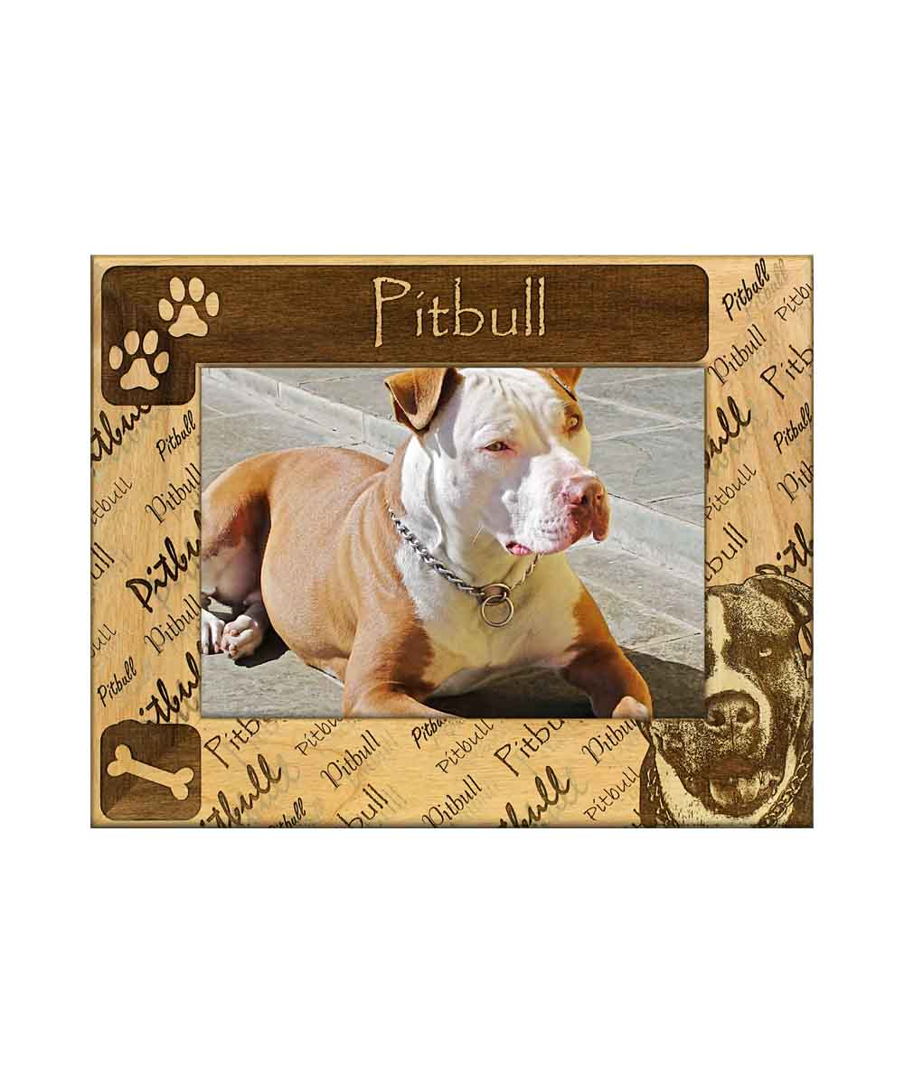 Pitbull Picture Frame