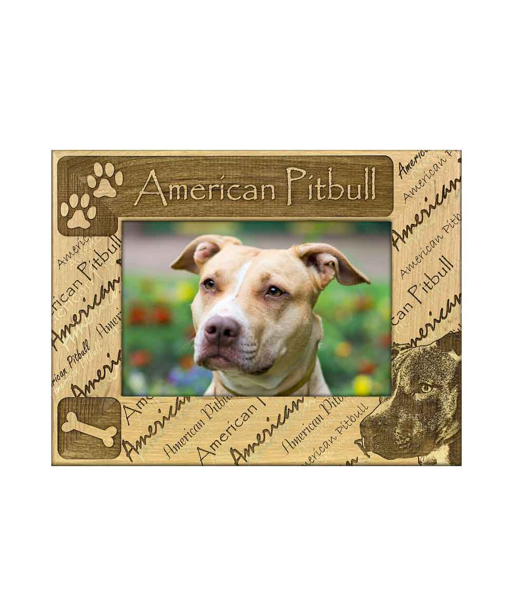 American Pitbull Picture Frame