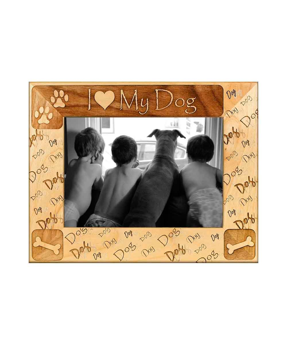 I heart my dog Picture Frame