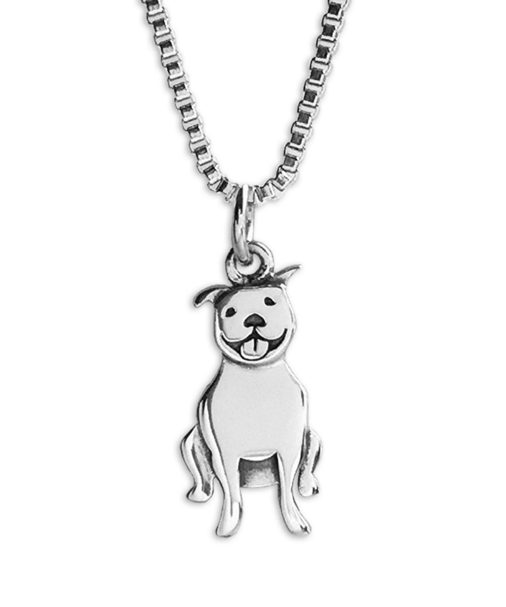 Happy Pit Bull Necklace