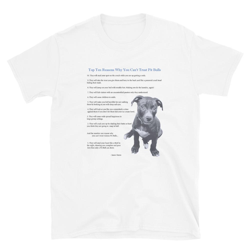 Top Ten Reasons Short-Sleeve Unisex T-Shirt