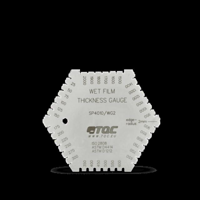 TQC Hexagonal Wet Film Combs - mils