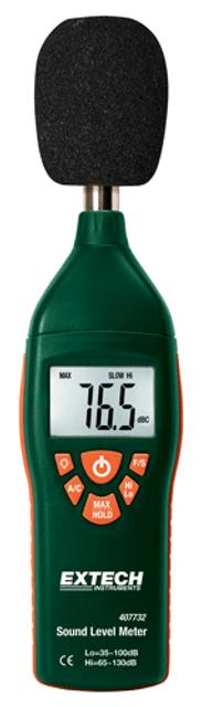 407732:Low/High Range Sound Level Meter