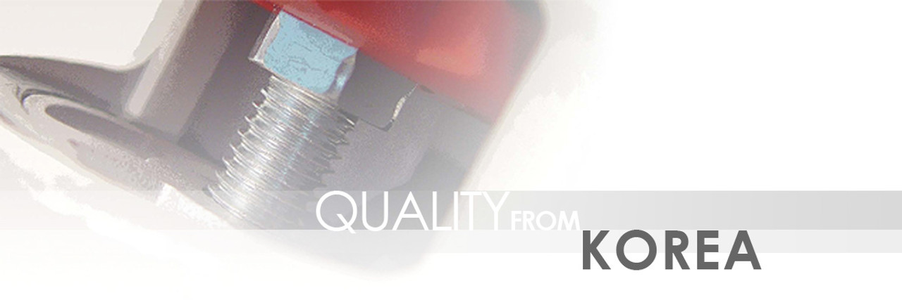Carrymaster, Quality from Korea
