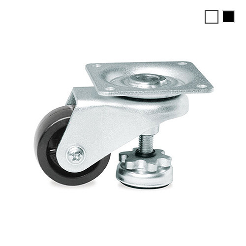 New GD Series Carrymaster AC-300 Swivel Leveling Caster Wheel Capacity 300 lbs