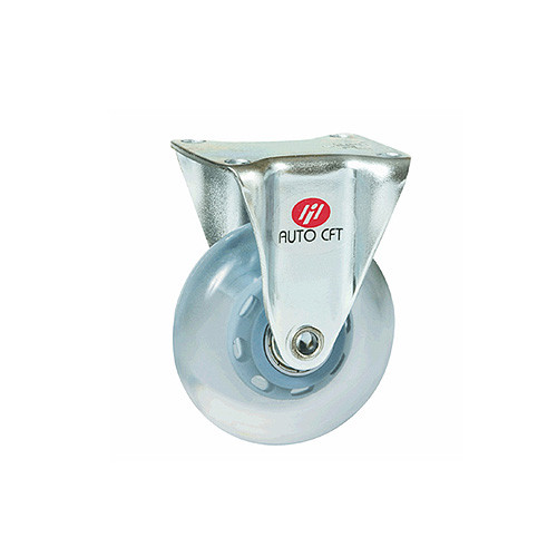 CarryMaster ACSU-40RF Light-Duty Caster with Polyurethane Wheel