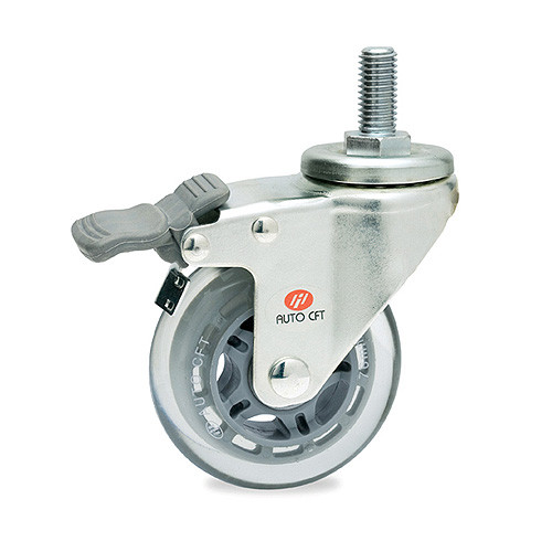 CarryMaster ACSU-64SSB Light Duty Polyurethane Wheel