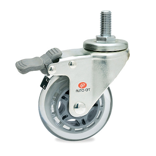 CarryMaster ACSU-76SSB Light Duty Polyurethane Wheel