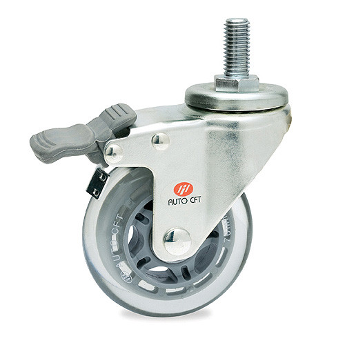 CarryMaster ACSU-102SSB Light Duty Polyurethane Wheel