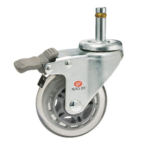 CarryMaster ACSU-102SGRB Light Duty Polyurethane Wheel