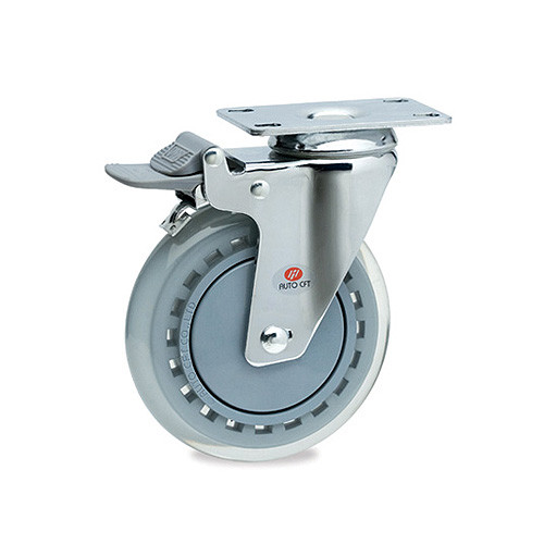 CarryMaster ACLU-100SFB Light Duty Polyurethane Wheel