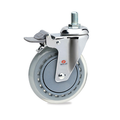 CarryMaster ACLU-100SSB Light Duty Polyurethane Wheel