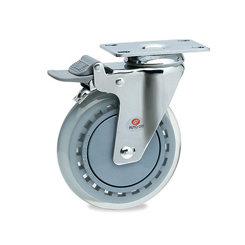 CarryMaster ACLU-127SFB Light Duty Polyurethane Wheel