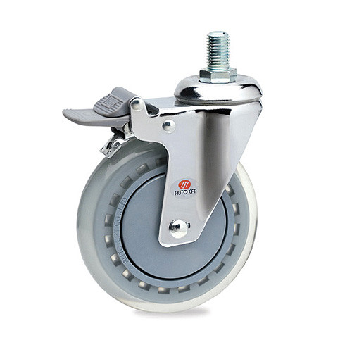 CarryMaster ACLU-127SSB Light Duty Polyurethane Wheel