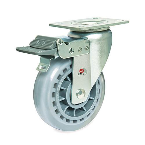 CarryMaster ACLMU-125SFB Medium Duty Polyurethane Wheel