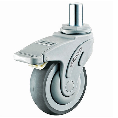 CarryMaster ACMC-127SRSB Light Duty Plastic Caster