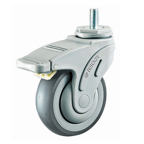 CarryMaster ACMC-127SSB Light Duty Plastic Caster