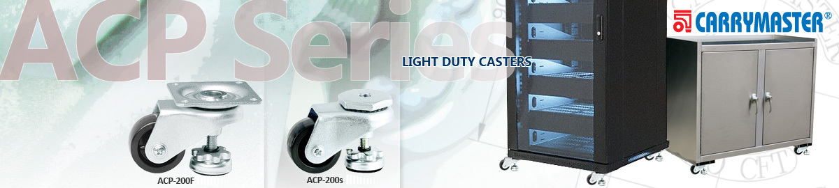 Carrymaster ACP Series Light Duty casters wheel