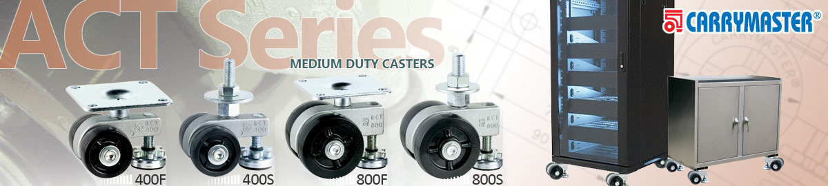 Carrymaster ACT Series Medium Duty Casters