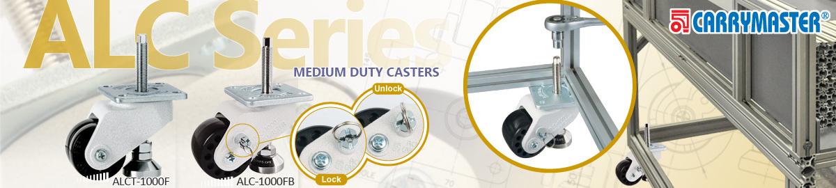 Carrymaster ALC Series Medium Duty Casters